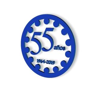 Logo 55 años
