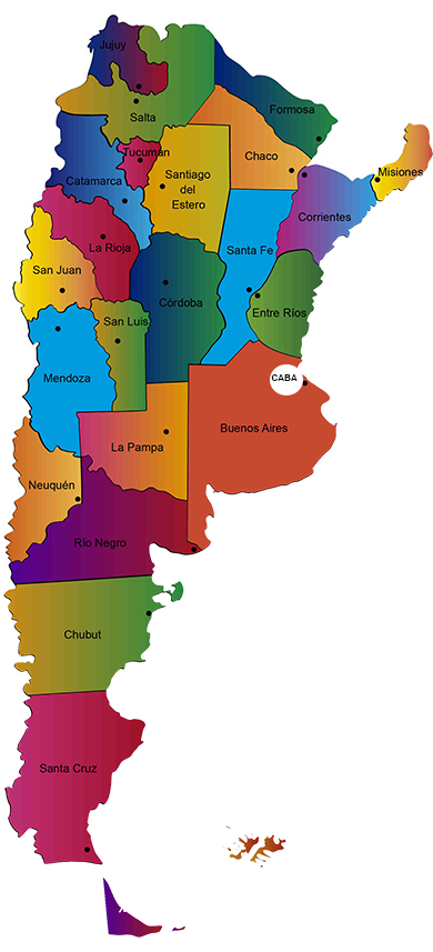 Distribuidores en Argentina