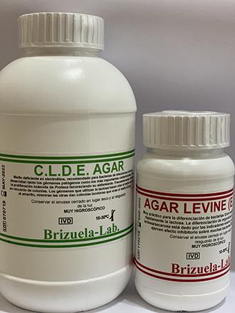 Agares Deshidratados Brizuela-Lab.