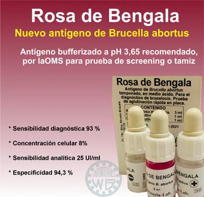 Rosa de Bengala Brizuela-Lab.